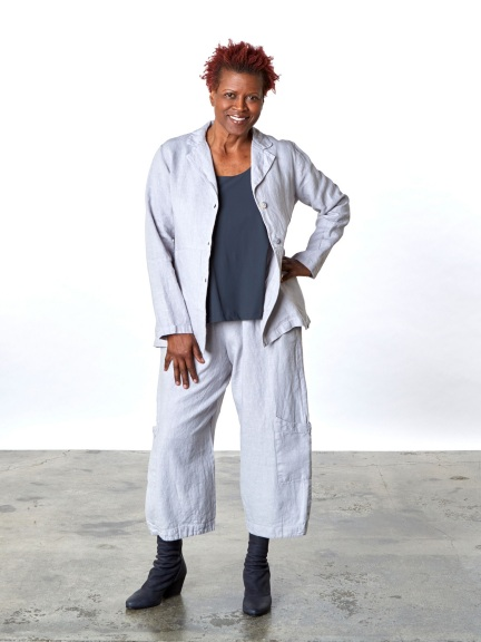 Heavy Linen Orly Jacket by Bryn Walker