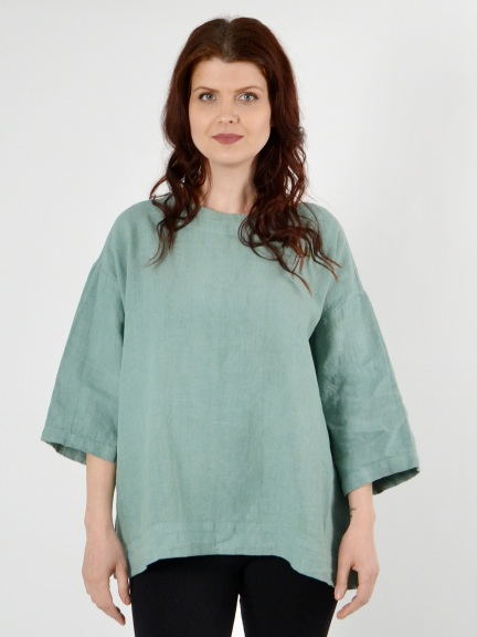 Heavy Linen Resort Shirt by Bryn Walker