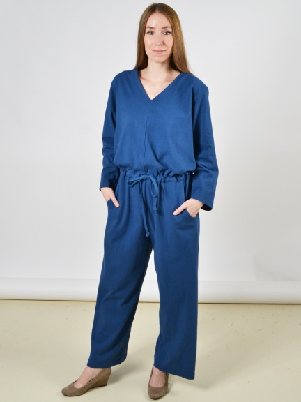 L/S Jumpsuit by Pacificotton