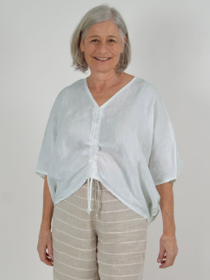 Light Linen Ria Shirt by Bryn Walker