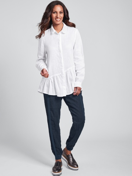 Lola Ruffle Shirt by Flax