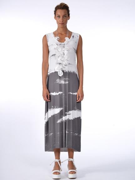 White Maxi Tank Dress
