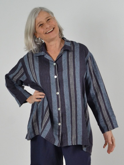 Mirren Stripe Shirt by Bryn Walker