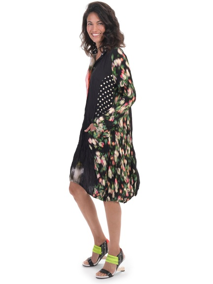 Mixed Garden Wonder Dress by Alembika