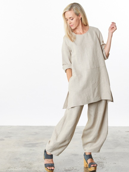 Natural Bre Tunic by Bryn Walker