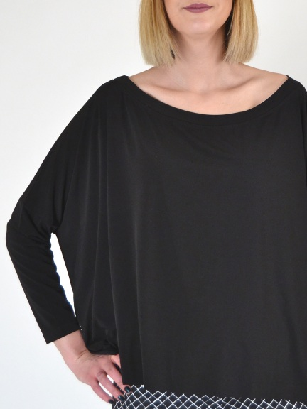 294ee7da8411fd Off The Shoulder Tee by Planet at Hello Boutique