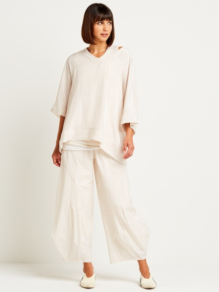 Panel Pleat Pant by Planet