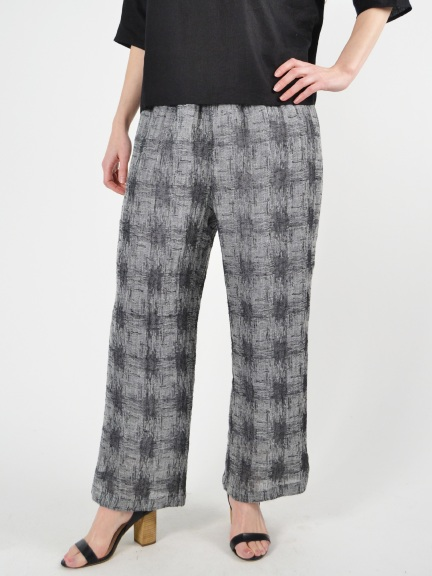 Plain Pants W/ Slit by Chalet