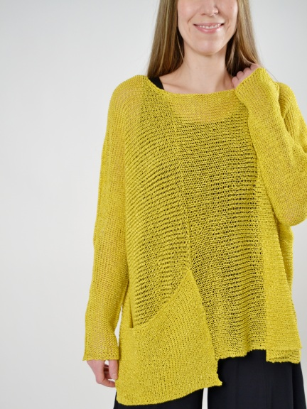 Pullover Pocket Sweater by Alembika