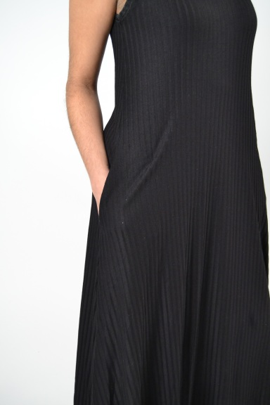 Ribbed Tank Dress by Alembika