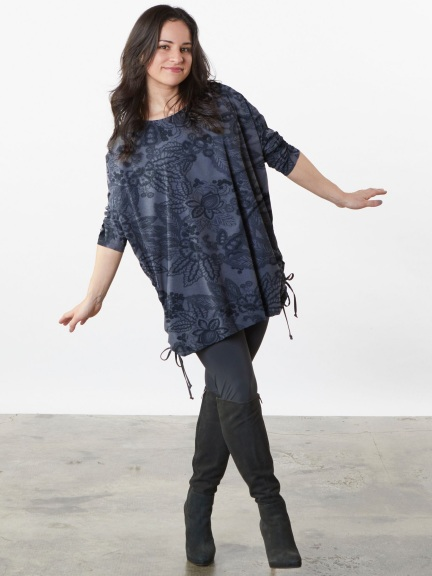 Ruched Inman Tunic by Bryn Walker