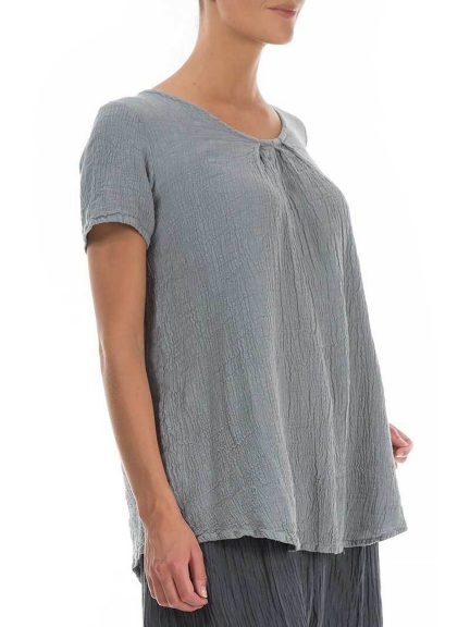 Short Sleeve Blouse by Grizas