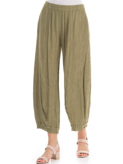 Silk Viscose Trousers by Grizas