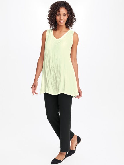 Silky V-Tunic by Flax
