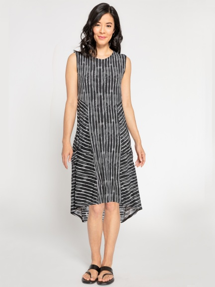 Sleeveless Tuck Dress by Sympli