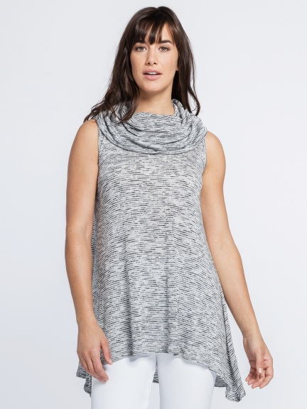 Sleeveless Vanity Flare Tunic by Sympli