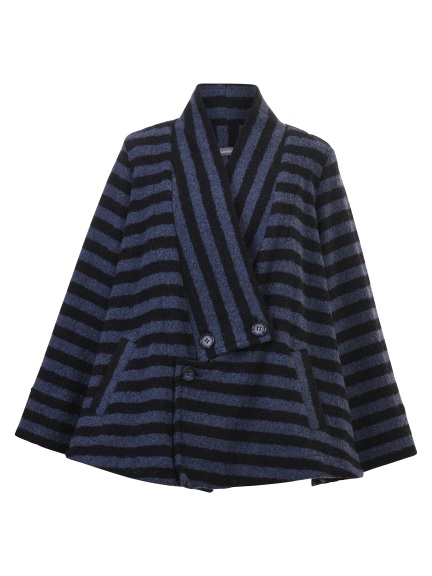 Stripe Button Jacket by Alembika