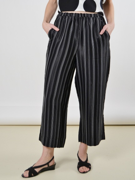 Stripe Crop Pant by Alembika