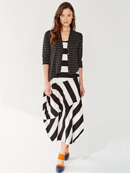 Stripe Maxi Dress by ALEMBIKA at Hello Boutique