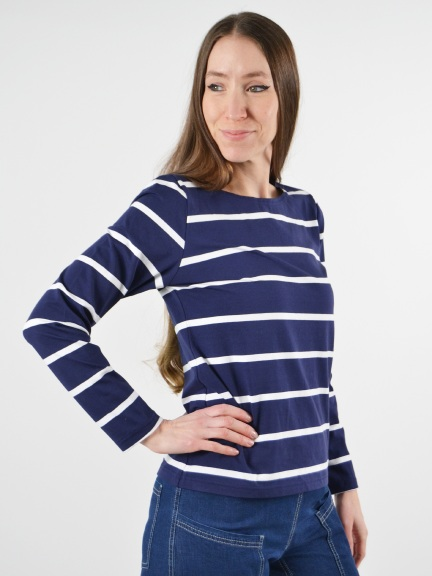 Striped Long Sleeve Tee by Klok