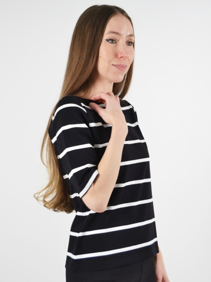 Striped Top by Klok