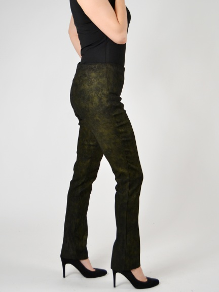 Sueded Twill Keesha Pant by Equestrian Designs