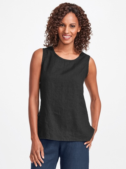Sunny Linen Tank by Flax