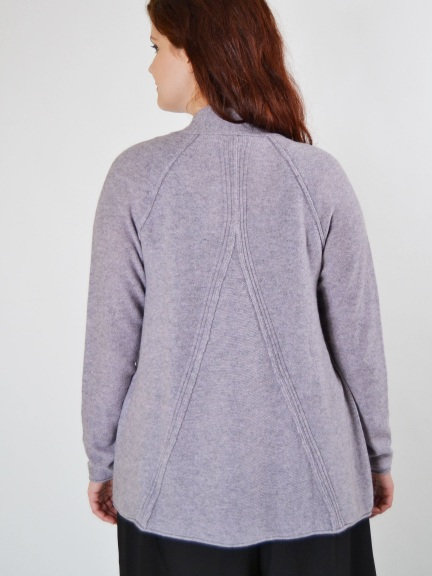 Swing Back Cardi by Kinross Cashmere