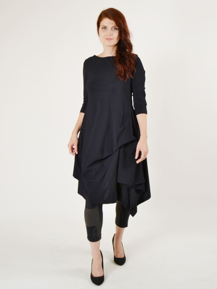 Three Quarter Sleeve Fortune Dress by Porto
