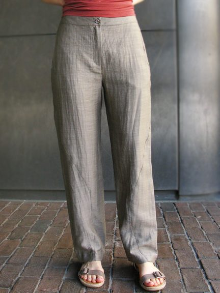 Timing Straight Pants by CANNISSE