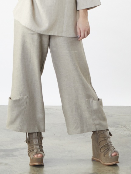 Tweed Pocket Pant by Bryn Walker