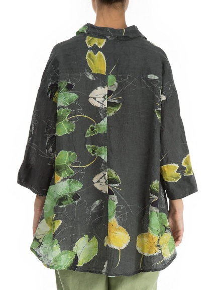 Water Lilies Blouse by Grizas