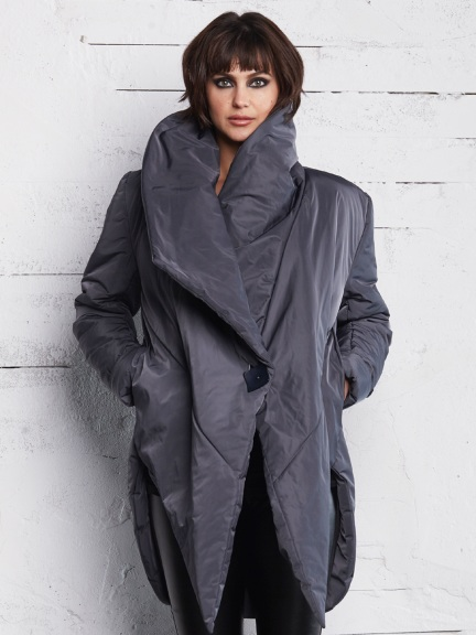 Wrap Puff Jacket by Planet